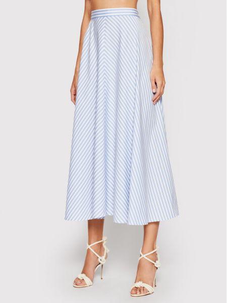 Spódnica trapezowa - niebieska Polo Ralph Lauren