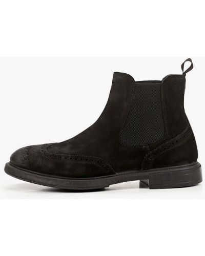 Черные ботинки челси F.lli Rennella