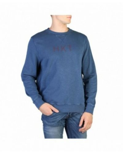 Niebieska bluza dresowa Hackett