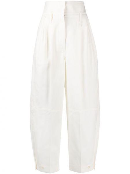 Spodnie z kieszeniami białe Givenchy