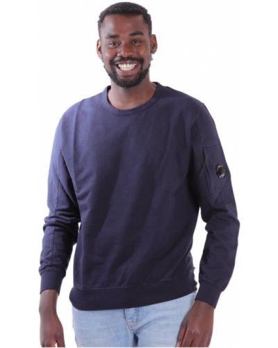 Fioletowy długi sweter z długimi rękawami na co dzień C.p. Company