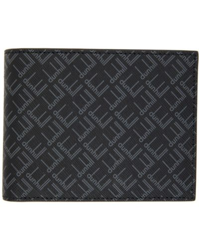 Czarny portfel Dunhill