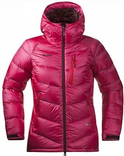 Зимняя куртка утепленная розовая Bergans