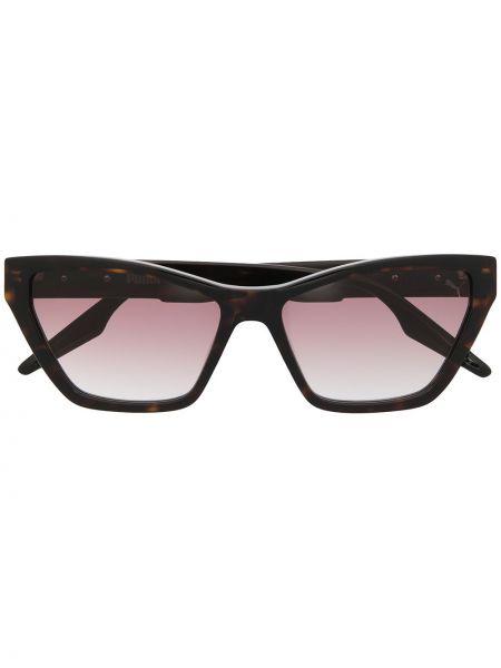 Коричневые солнцезащитные очки металлические Puma
