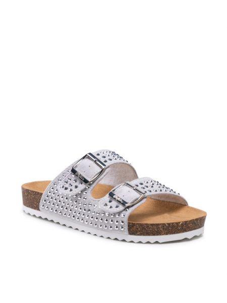 Sandały srebrne Buffalo