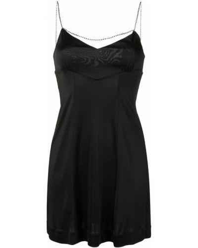 Платье черное Alexa Chung
