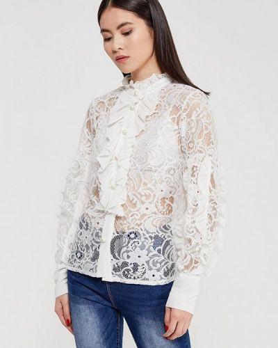 Белая блузка с рюшами Imperial