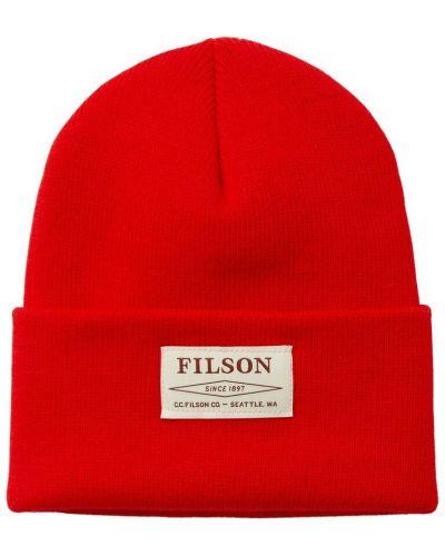 Czerwona czapka Filson