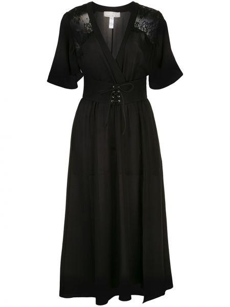 Платье мини миди на шнуровке Fleur Du Mal