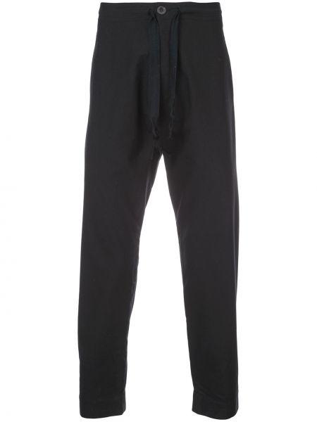 Czarne spodnie bawełniane Jan-jan Van Essche