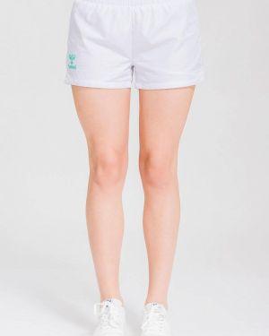 Белые спортивные шорты Hummel