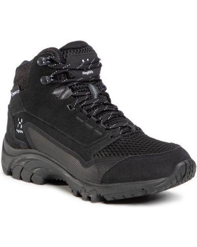 Sneakersy - czarne Haglöfs