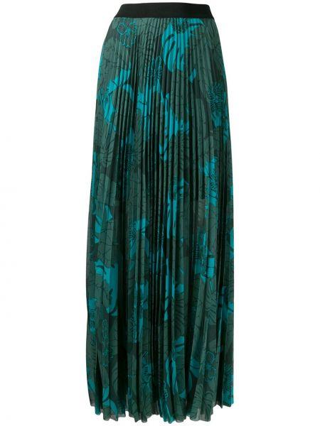 Плиссированная юбка макси спортивная Escada Sport