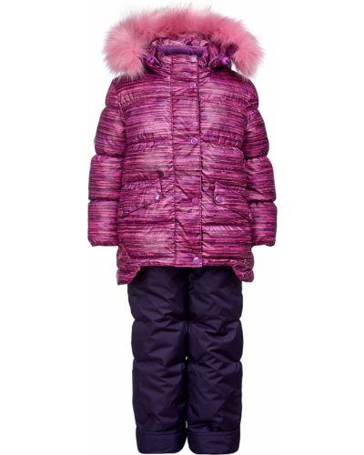 Костюм зимний розовый Oldos