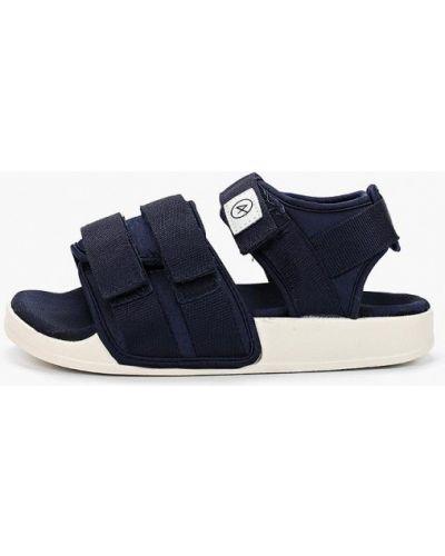Текстильные сандалии - синие Affex