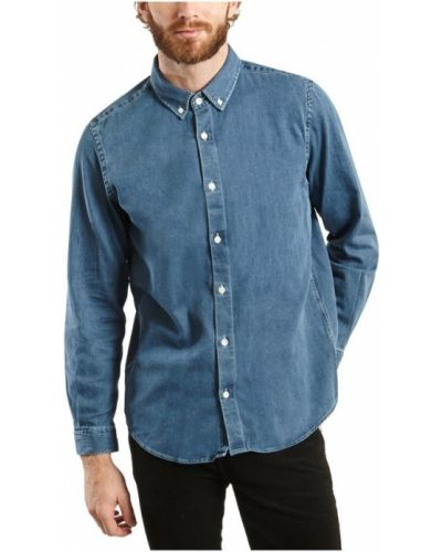 Niebieska koszula jeansowa Harmony