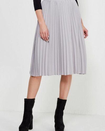 Плиссированная юбка серая пачка Lost Ink.