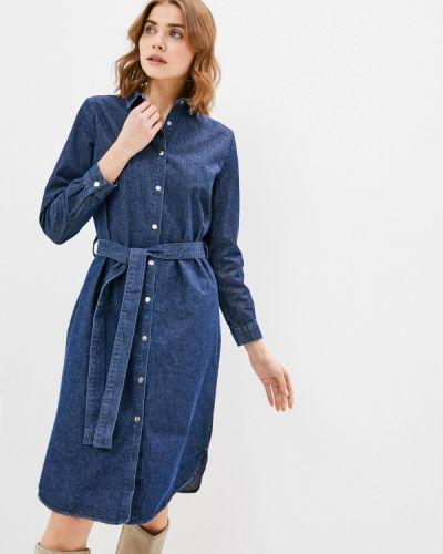 Клубное синее джинсовое платье Concept Club
