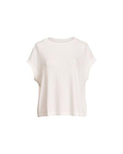 Белая футболка из вискозы Essentiel