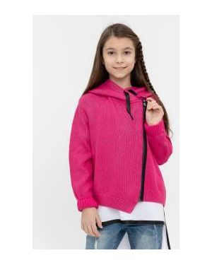 Вязаный кардиган летний розовый Gulliver Wear