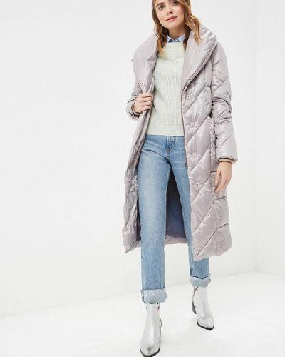 Утепленная куртка - серая Nastasia Sabio