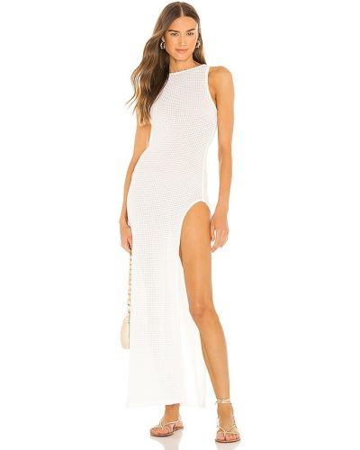 Biała sukienka długa Camila Coelho