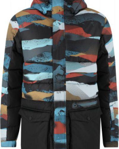 Спортивная утепленная куртка с капюшоном на молнии Termit