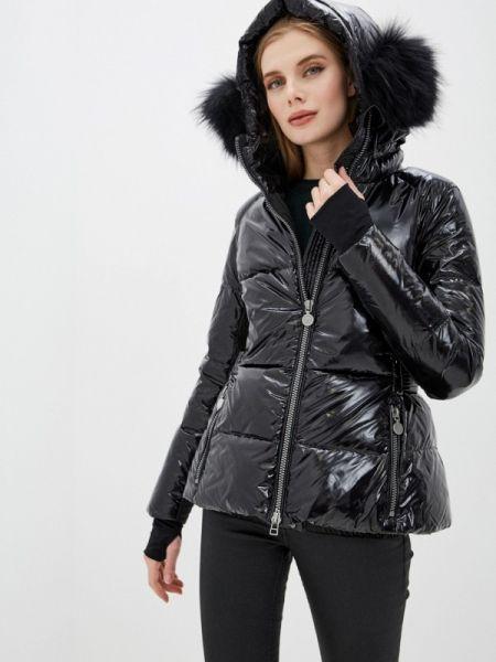 Зимняя куртка черная весенняя Naumi