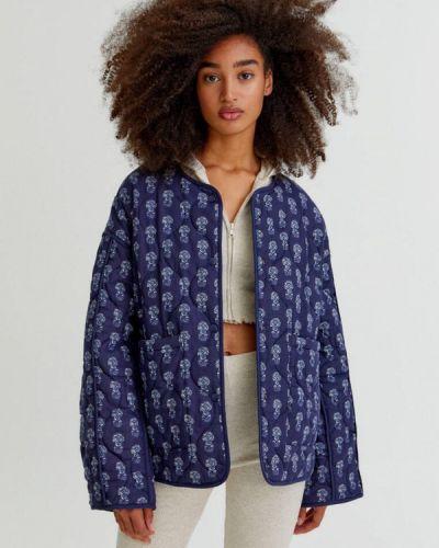 Синяя турецкая куртка Pull&bear
