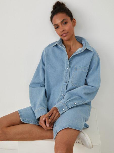 Синее джинсовое платье 12storeez
