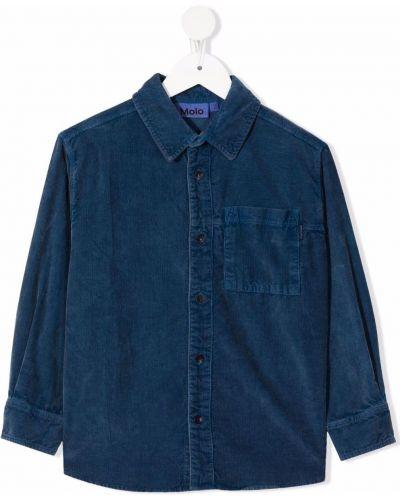 Klasyczna koszula - niebieska Molo Kids