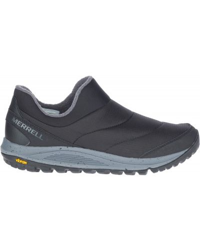 Черные кожаные ботинки Merrell
