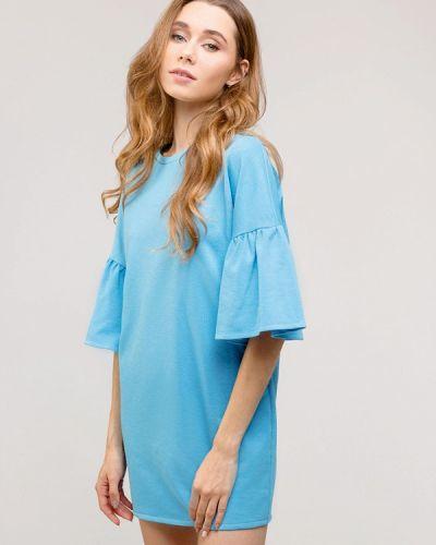 Прямое платье - голубое Gee!