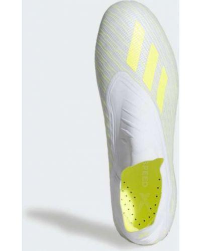 Белые футбольные бутсы Adidas