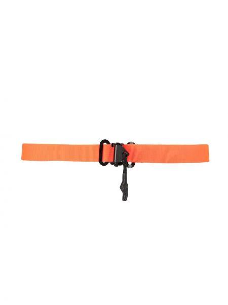Оранжевый ремень с вышивкой Sophnet.