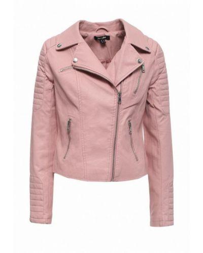 Кожаная куртка - розовая Jennyfer
