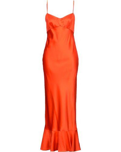 Czerwona sukienka Saloni