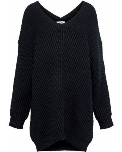 Czarny sweter wełniany Acne Studios