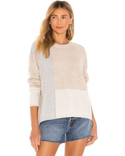 Klasyczny beżowy z kaszmiru sweter Splendid