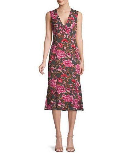 Расклешенное платье миди без рукавов с подкладкой Fame And Partners