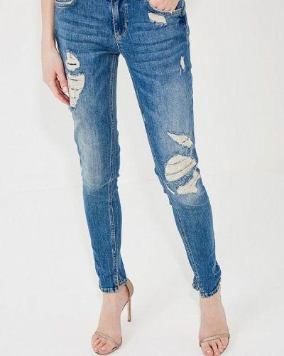 Синие джинсы-скинни Liu Jo Jeans