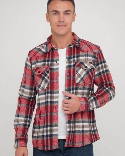 Рубашка в клетку - красная Trend Collection