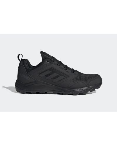 Czarne półbuty sznurowane do biegania Adidas