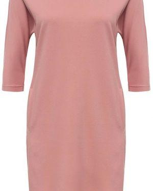 Розовое платье из вискозы Finn Flare
