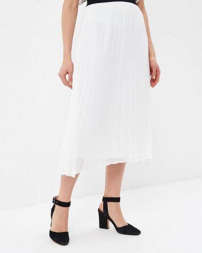 Плиссированная юбка весенняя белая Springfield