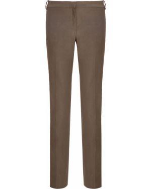 Льняные брюки - зеленые Ilaria Nistri