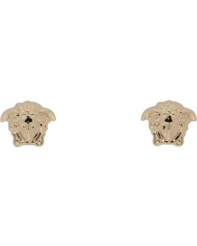 Kolczyki ze sztyftem złoto Versace