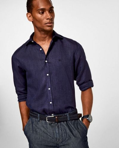 Синяя рубашка Pedro Del Hierro
