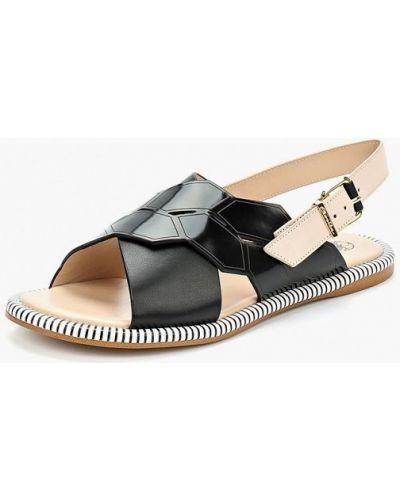 Черные сандалии Ekonika