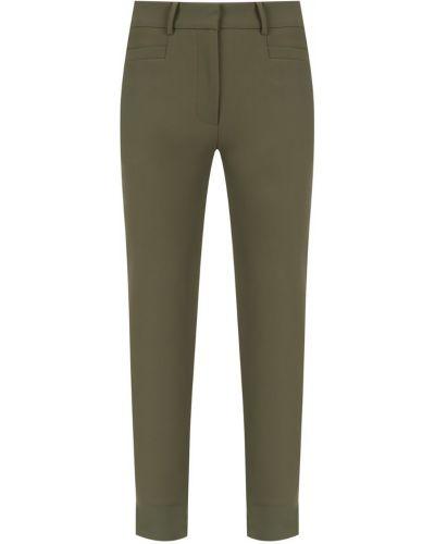 Укороченные брюки зауженные зеленый Egrey